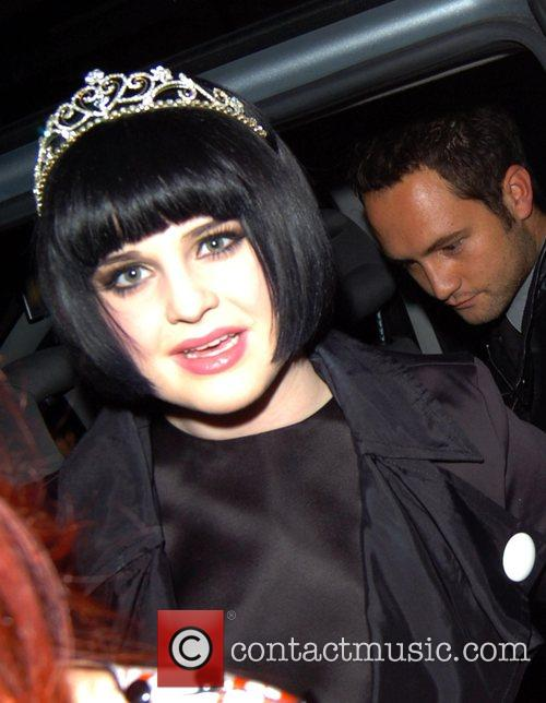 Arriving for her birthday party at Maya nightclub