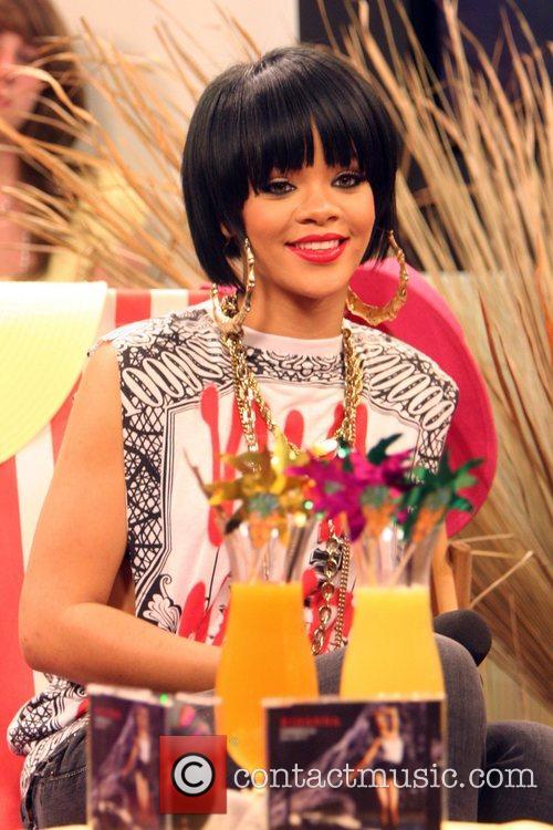 Rihanna on German TV show