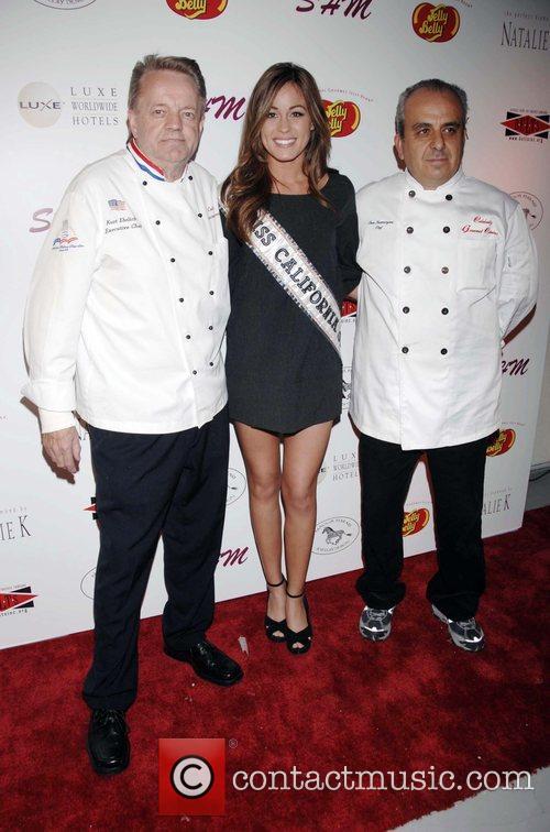 Chef Ehlrich (left) and Raquel Beezley arrive at...