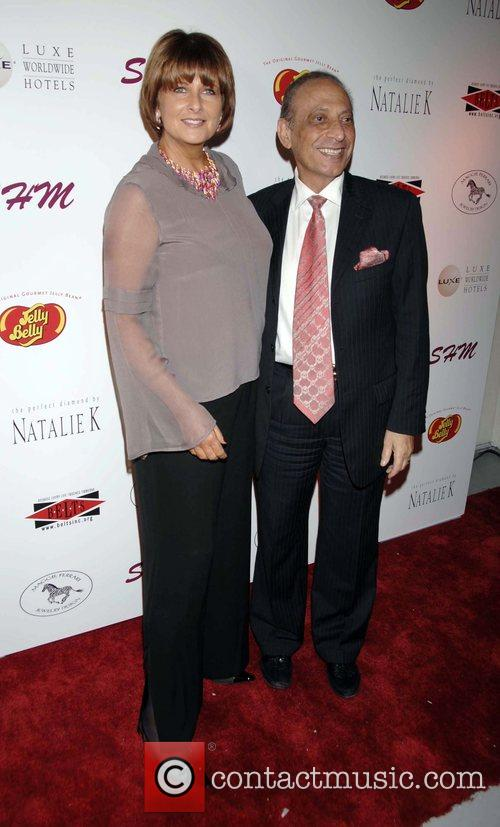 Christina Ferrare and Mayor of Beverly Hills Jimmy...