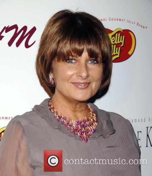 Christina Ferrare arrives at the SHM Red Carpet...