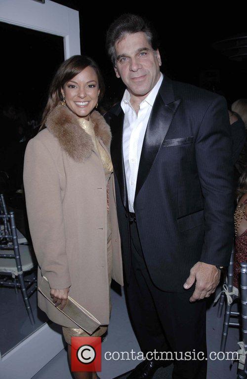 Eva LaRue and Lou Ferrigno arrives at the...