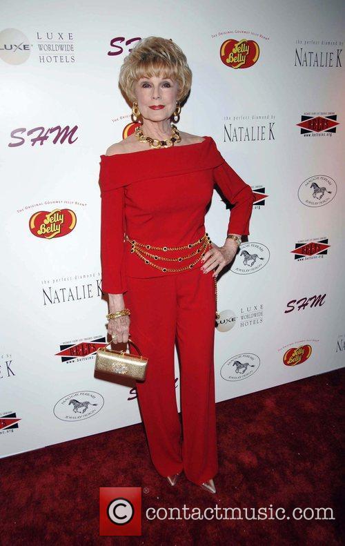 Karen Sharpe Kramer arrives at the SHM Red...