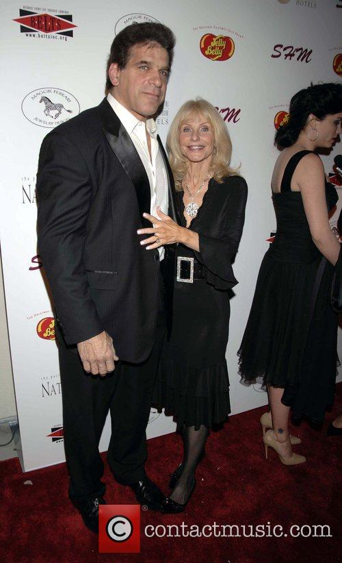 Lou and Carla Ferrigno arrives at the SHM...