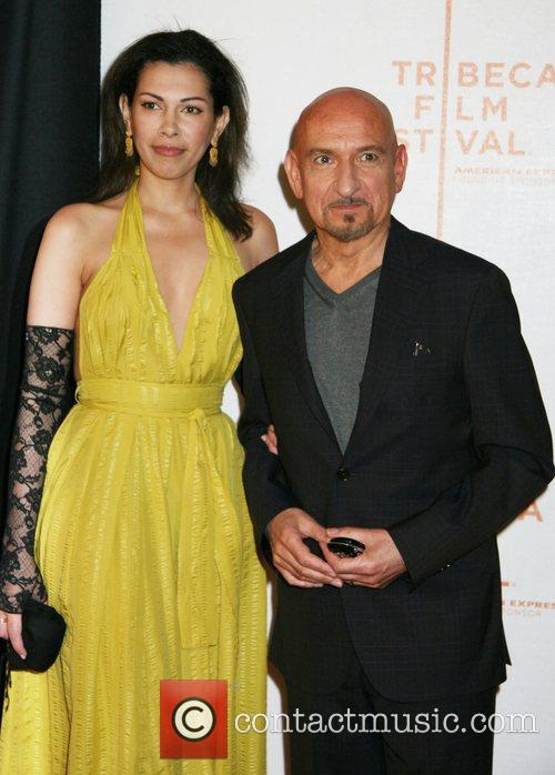 Ben Kingsley and Wife 7th Annual Tribeca Film...