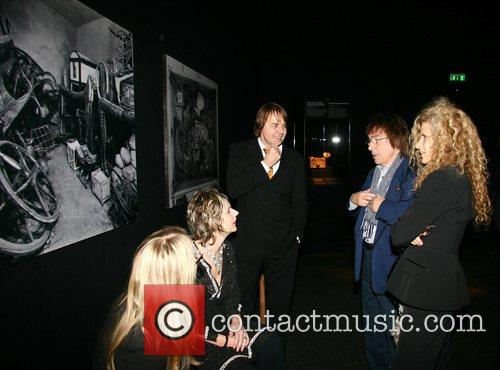 Suzanne Wyman, Bill Wyman Charity preview of Tutankhamun...