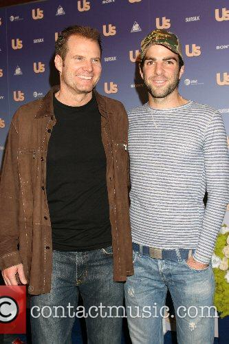 Jack Coleman and Zachary Quinto US Weekly Hot...