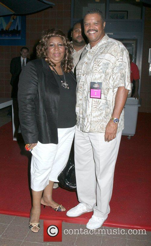 Aretha Franklin and Fiance Willie Wilkerson Jr. 4