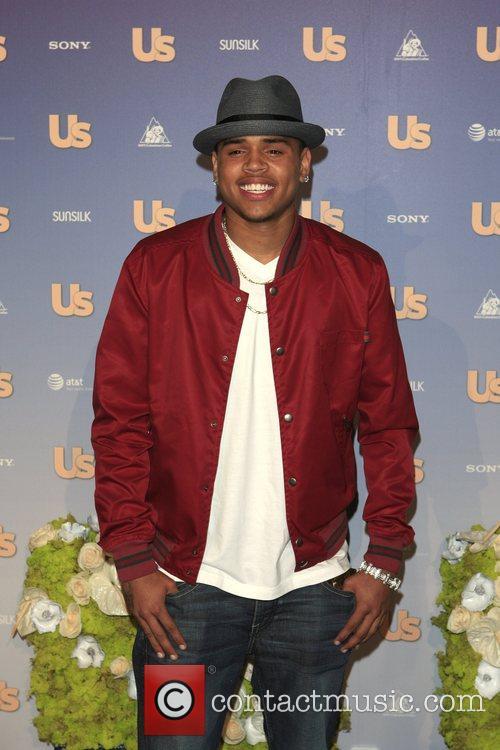 Chris Brown US Weekly Hot Hollywood Party at...