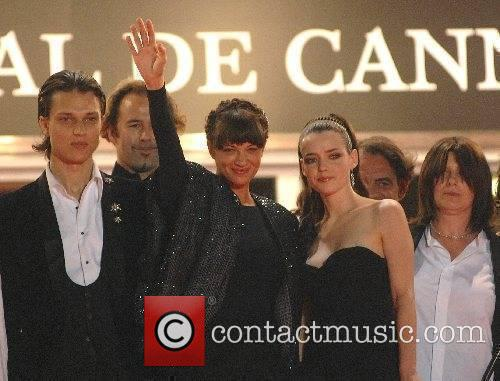 Roxane Mesquida, Fu'ad Ait Aattou and Asia Argento...