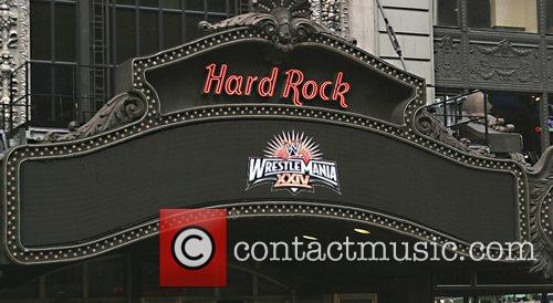 Exterior, Hard Rock Cafe Times Square and Times Square 6