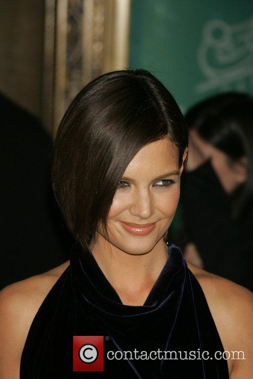 Katie Holmes attending the Tom Cruise black-tie salute...