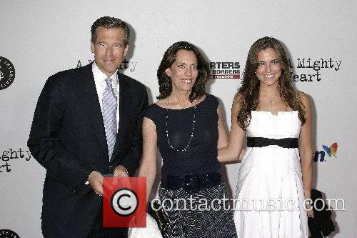New York Premiere of 'A Mighty Heart' held...