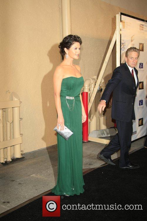 Catherine Zeta-Jones, Michael Douglas Stars of stage and...