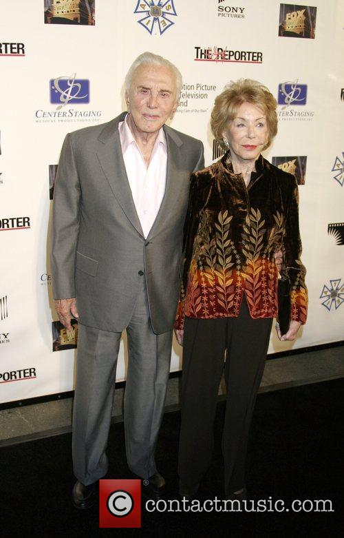 Kirk Douglas, Anne Buydens Stars of stage and...