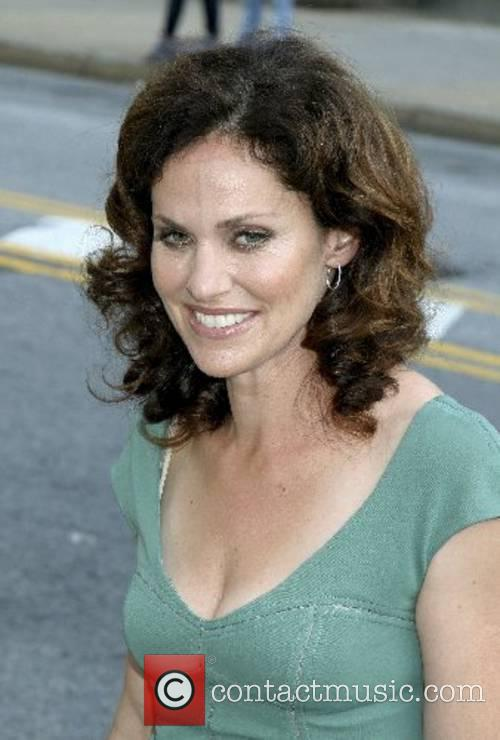 Amy Brenneman ABC Upfronts held at Lincoln Centre...