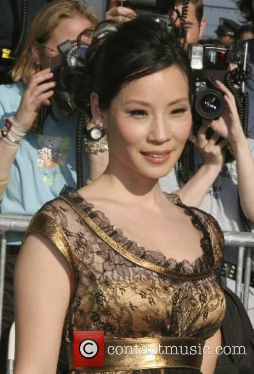 Lucy Liu ABC Upfronts held at Lincoln Centre...