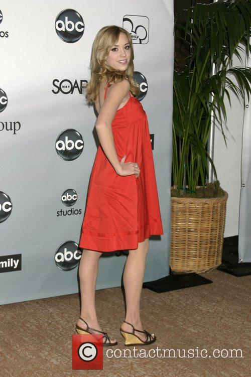 Andrea Bowen ABC TCA Summer Party at the...