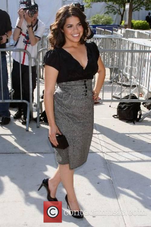 America Ferrera ABC Upfronts held at Lincoln Centre...