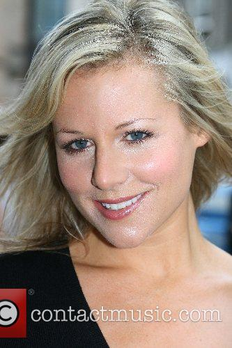 Abi Titmuss arrives at the Edinburgh Television Festival...