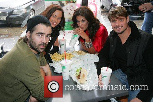 Colin Farrell, Glenda Gilson and Keith Duffy 6