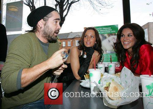 Colin Farrell and Glenda Gilson 8