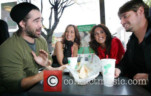 Colin Farrell, Glenda Gilson and Keith Duffy 2