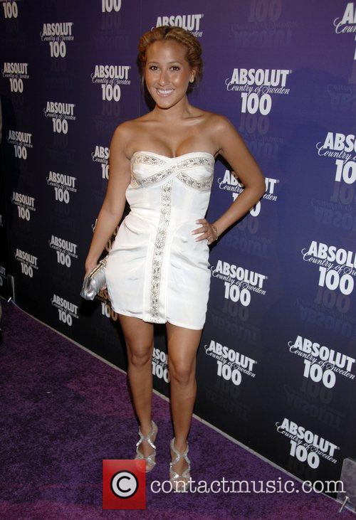 Adrienne Bailon Absolut 100 hosts a party for...