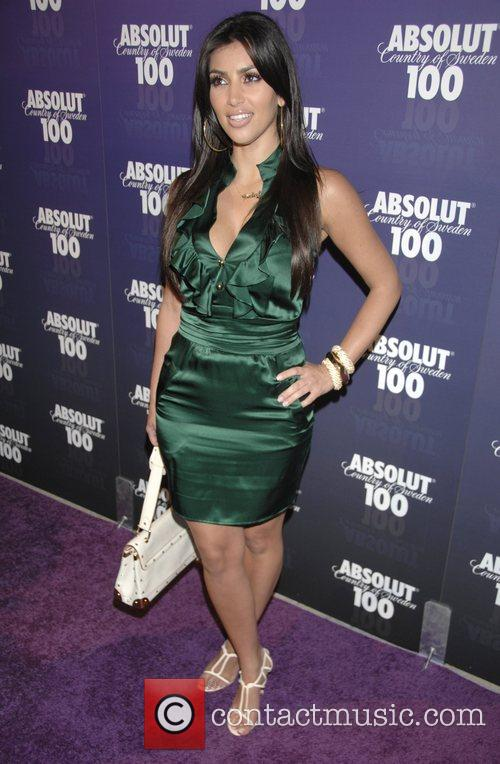 Absolut 100 hosts a party for Kanye West's...