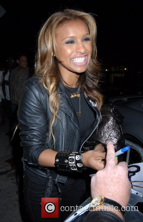 Melody Thornton arriving at GOA nightclub Los Angeles,...