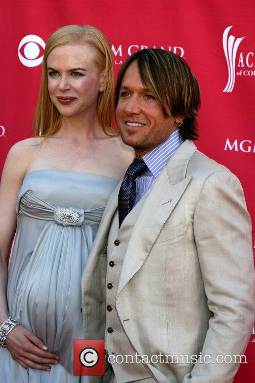 Nicole Kidman and Keith Urban Academy of Country...