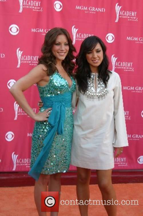 Jessica Harp and Michelle Branch