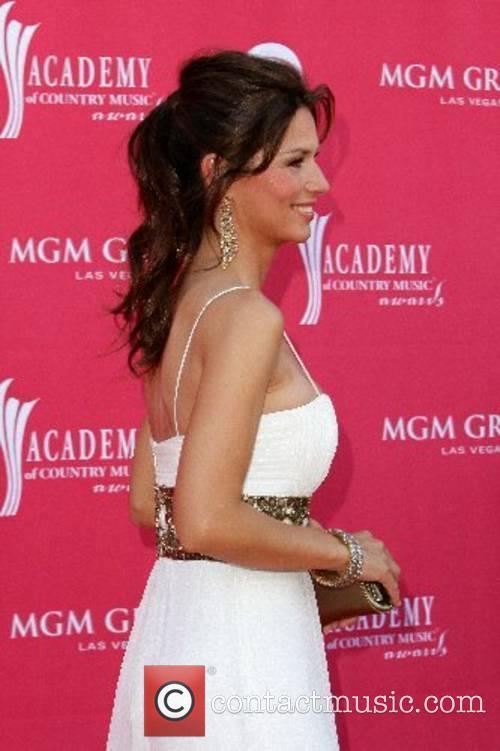 Shania Twain 42nd Annual ACM Awards at MGM...