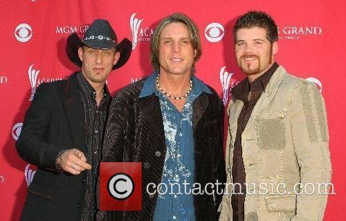Carolina Rain 42nd Annual ACM Awards at MGM...