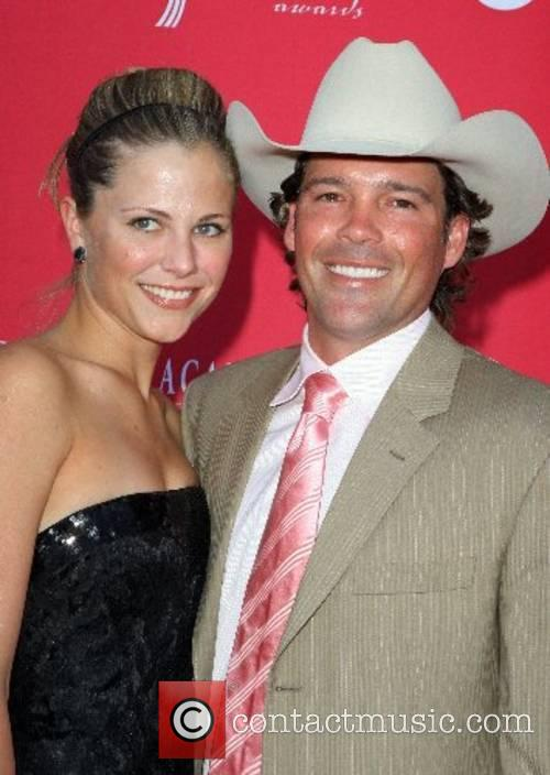Clay Walker and Jessica Craig 42nd Annual ACM...
