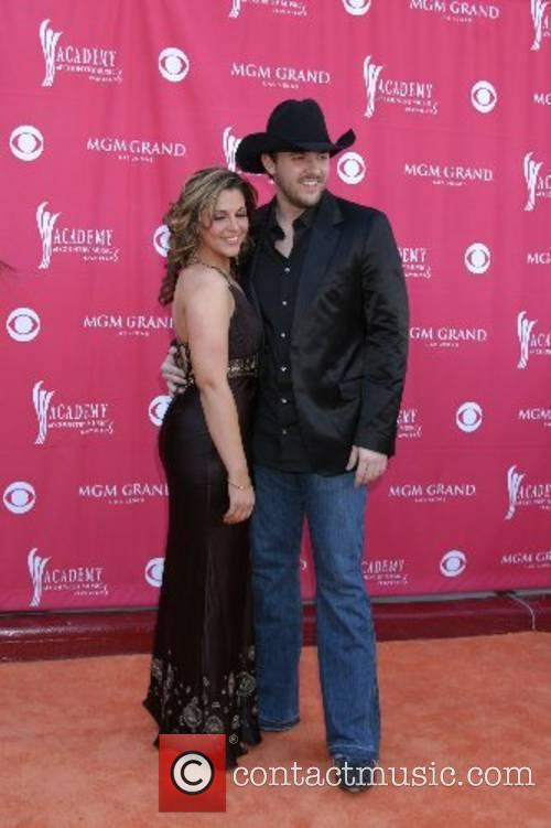 Chris Young and Adrienne Leon Academy of Country...