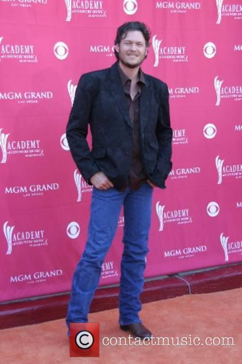 Blake Shelton Academy of Country Music Awards MGM...
