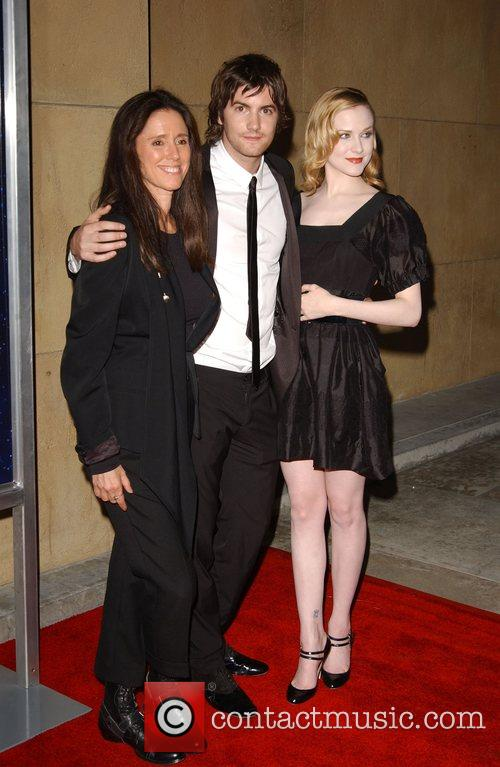 Julie Taymor, Jim Sturgess and Evan Rachel Wood 3