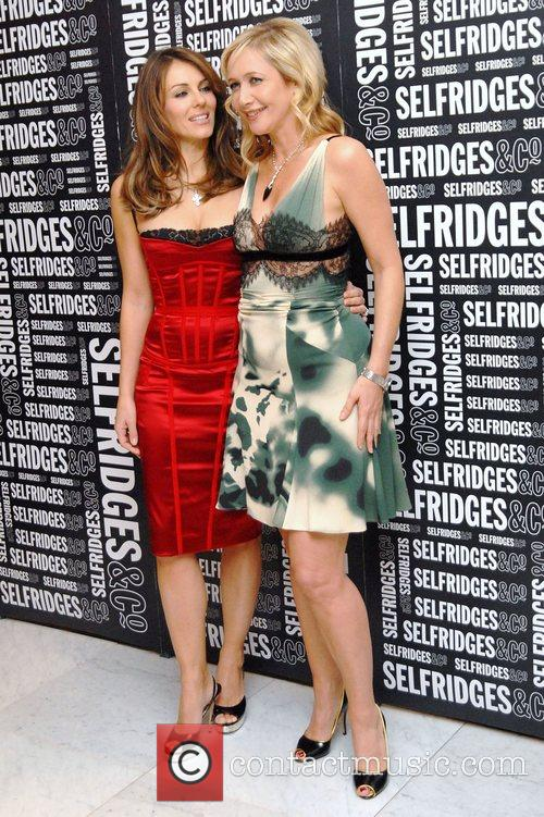 Elizabeth Hurley and Tania Bryer 9