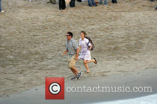 Adam Sandler and Keri Russell 9