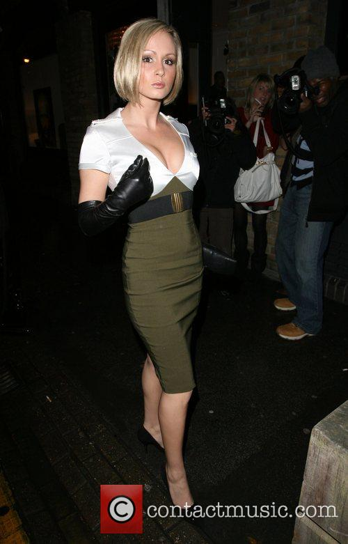Chanelle Hayes,  Adee Phelan Salon launch party...