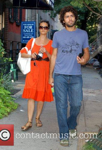 Adrian Grenier of HBO's Entourage out and about...