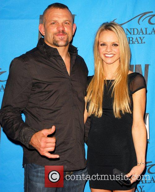 Chuck Liddell and Guest 25th Annual Adult Video...