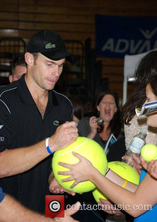 Andy Roddick 15th annual 'Advanta World TeamTennis Smash...