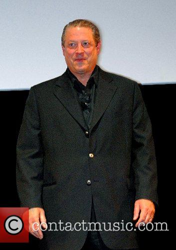Al Gore gives a speech for the 'Y&R...