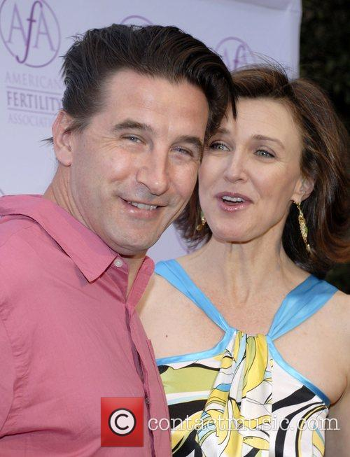 William Baldwin and Brenda Strong