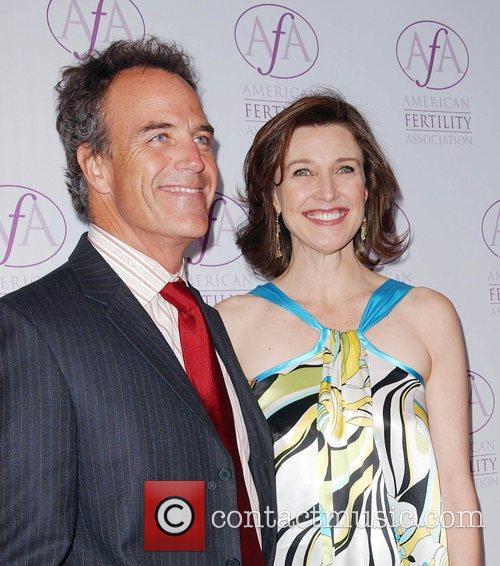 Richard Burgi and Brenda Strong