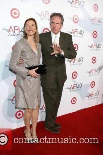 Annette Bening & Warren Beatty AFI's 40th Anniversary...