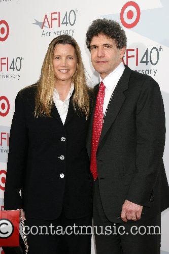 Alan Horn & Wife AFI's 40th Anniversary Celebration...