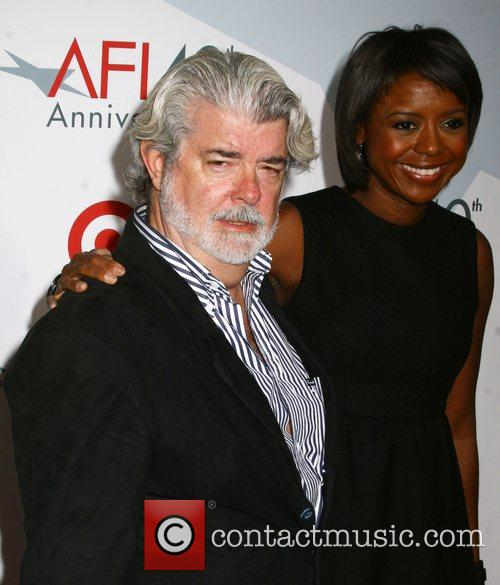 George Lucas AFI's 40th Anniversary Celebration - Arrivals held...